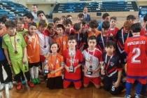Futsalda Küçüklerden Büyük Sevinç