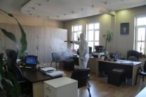 Korona virüse karşı dezenfektan harekatı