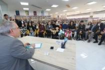Kütüphane Programları Adlı Söyleşi Programının İlk Konuğu Vali Nayir Oldu
