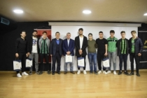 Sakaryaspor'un Yıldızları Altınküre Lisesi'nin Konuğu Oldu