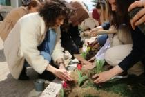 SAÜ'de Kadınlar Günü Fidan Dikimi ile Kutlandı