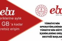 Vodafone'den uzaktan eğitime 6GB destek