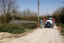 Arifiye Belediyesi'nden Larva Çalışması