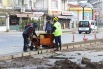 Belediye Park'ta Çalışmalar Tüm Hızıyla Sürüyor