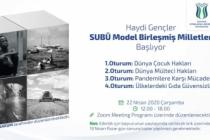 SUBÜ model birleşmiş milletler toplanıyor