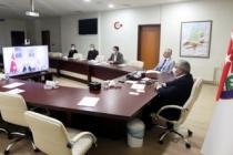 Vali Nayir Bakan Selçuk'un Düzenlediği Videokonferans Toplantısına Katıldı