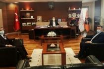 Başkan Sarı'dan Karayolları 1. Bölge Müdürlüğüne Ziyaret