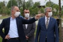 """Başkan Yüce protokol imzaladı """"Millet Bahçesi çalışmalarına Büyükşehir desteği"""""""
