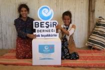 Beşir derneği Ramazan ayı faaliyetleri ile gönüller fethediyor