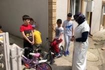 Durmuş'a sokaktaki çocuklar 'Okulu çok özledik' dediler