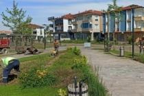 Karasu Belediyesi Çim Biçme Çalışmalarına Devam Ediyor