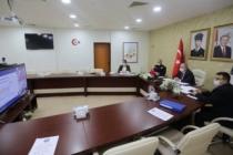 Marmara Bölgesi Emniyet ve Asayiş Toplantısı Videokonferans Yöntemiyle Gerçekleştirildi
