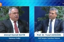 Vali Nayir SAÜ Söyleşileri Programına Konuk Oldu