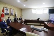 Vali Nayir Videokonferans Sistemi Üzerinden Kaymakamlara Seslendi