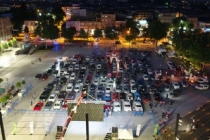 Arabalı Sinema etkinliğinde, Polislerde Vatandaşlar ile birlikte Sinema izledi