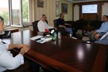 İl Müdürü Arif Özsoy, Sakaryaspor Teknik Direktörü Şaban Yıldırım'ı ağırladı