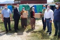 Manisa'daki Mevsimlik Tarım İşçilerine Mey Diageo'dan Hijyen Paketi