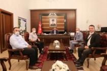 Osmanlı Turan Ocaklarından Vali Bey'e hayırlı olsun ziyareti