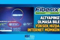 Altyapısı olmayana fiber internet