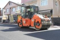 Bayram öncesi asfalt çalışmaları hız kazandı