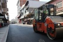 Büyükşehir asfalt ekipleri Karasu'da