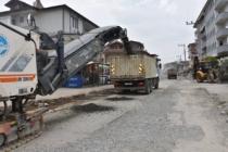 HacIoğlu'nda i̇ki̇ sokağa asfalt
