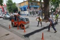 Hendek sokaklarında asfalt teyakkuzu