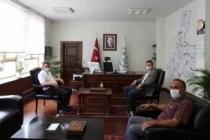 Sarı'dan DSİ 3. Bölge Müdürüne Ziyaret