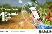 """Türktraktör'ün """"tarlam cepte""""  uygulamasından  20.000 çi̇ftçi̇ yararlanıyor"""