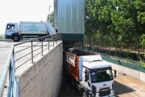 Aktarma istasyonlarından taşınan 350 ton atık enerjiye dönüşüyor