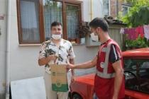 Büyükşehir'in 'Her Eve Maske' dağıtımı sürüyor
