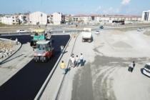Karasu'da asfaltın ikinci etabı başladı