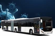 Otokar'ın Covid-19 virüsü bulaş riskini azaltan  'Güvenli Otobüs'ü İzmir'de yola çıktı