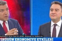 """Babacan: """"Kimse Halkı Cahil Yerine Koymasın"""""""