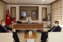 BİK Müdürü Çorbacı'dan, Başkan Acar'a ziyaret