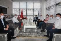 Durmuş'tan MÜSİAD Başkanı Filizfidanoğlu'na Ziyaret