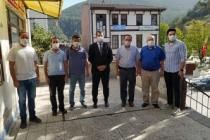 Kayamakam Özgür kaya'dan Ak parti ve Chp ye iadeyi ziyaret