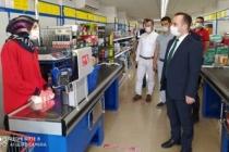 Kaymakam Arslantürk, Koronavirüs Denetimlerine Katıldı