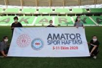 Amatör Spor Haftası Başladı