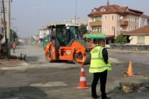 Mehmet Akif Ersoy Caddesi yenileniyor