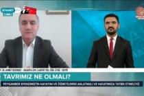 Prof. Dr. Ahmet Bostancı İslamofobik Saldırılara Dair Açıklamalarda Bulundu