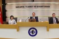 SATSO Meclisinde Şehir ve Ülke Gündemi Değerlendirildi