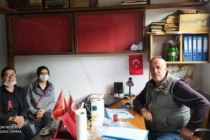 Taraklı CHP li Kadınlardan Muhtar Ziyareti