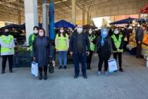 Adapazarı İlçe Milli Eğitim Müdürlüğü Ve Adapazarı Belediyesinden Covit-19 Mücadelesinde Ses Getiren Duyarlılık