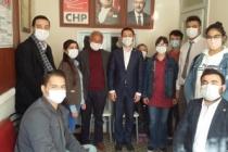 CHP Sakarya İl Gençlik Kollarını Taraklı İlçe Teşkilatını Ziyaret Etti
