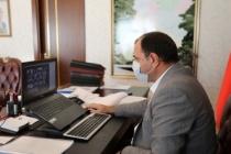 Koronavirüs Değerlendirme Toplantısı Vali Çetin Oktay Kaldırım'ın Başkanlığında Yapıldı