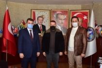 """Başkan Sarı'dan Akçakoca'ya Ziyaret"""