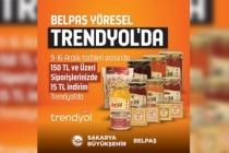 BELPAŞ yöresel ürünleri Trendyol'da