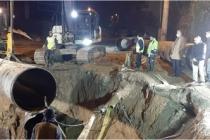Büyükşehir SGK Köprülü Kavşak Alt Yapı işlemini hızla tamamladı