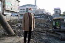 Şehrin yeni meydanı temel atmaya hazırlanıyor
